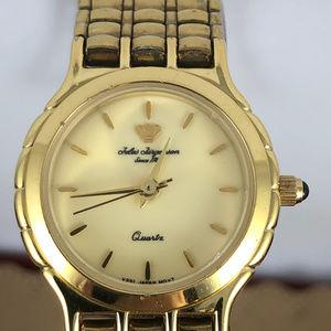 Vintage Jules Jurgensen Gold Crown Dress Watch